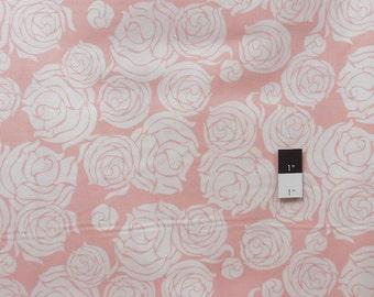 Annette Tatum PWAT080 Tailored Rose Coral Cotton Fabric 1 Yard