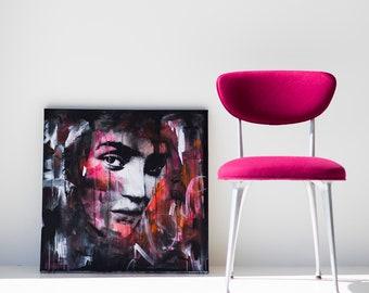 Modern Art Original, Abstract Art, Female Art, Modern Painting, Home Decor, Boho Home