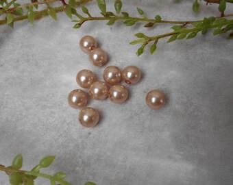 10 acrylic beads - bead - 10mm