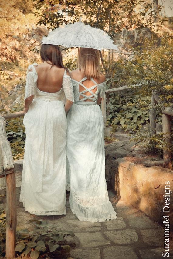 Ivory Latitia Beach Boho Wedding Dress Wedding Lace Wedding Gown Bohemian Long Wedding Dress Wedding Bridal SuzannaM Dress Dress Dress Ur1Uzwq