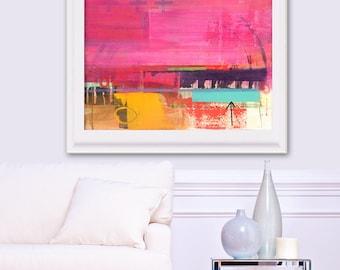 Large Wall Art, Abstract Art Print, Contemporary Art, Modern Art Painting