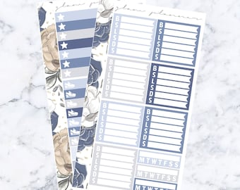 PRE-SALE! Baby Boy Wellness Kit (Glam Planner Stickers for Erin Condren Life Planner)