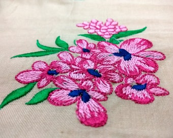Flower Embroidery Design - 2 Sizes, Machine Embroidery Flower Design, Flower Embroidery Pattern, paadar club