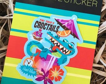 Crocktails Vinyl Sticker