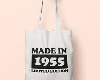Made In 1955 Limited Edition Tote Bag Long Handles TB1718