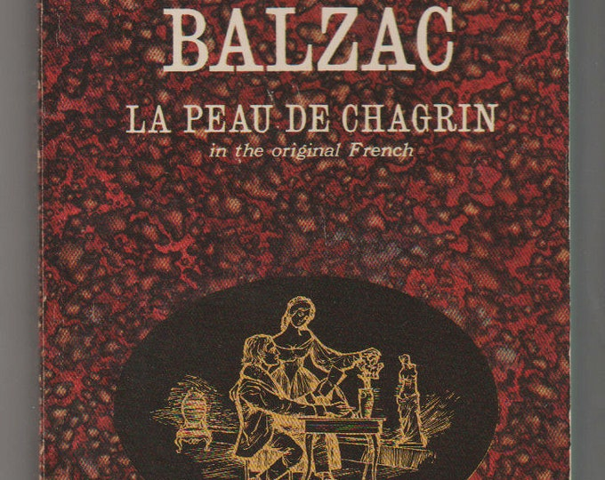1963 La Peau de Chagrin, Paperback Book, Honoré de Balzac.  FN+  Dell Publishing.
