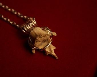 Bone Necklace.