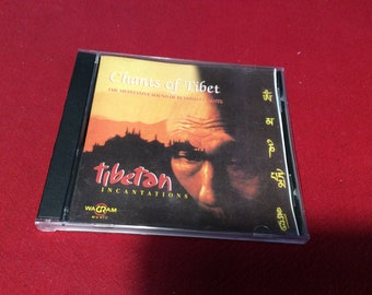 Chants of Tibet Cd,  1998 Edition