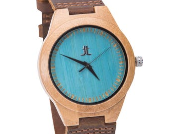 Men's Wooden Watches. Engraving Available. Gift for Groomsmen, Husband, Boyfriend. Gift on Wedding, Anniversary, Father's Day, Graduation