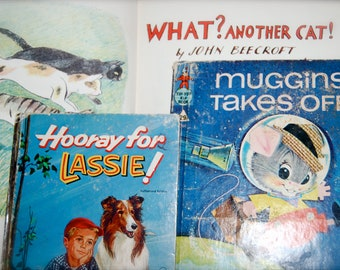 Collection of Three Vintage Children's Books