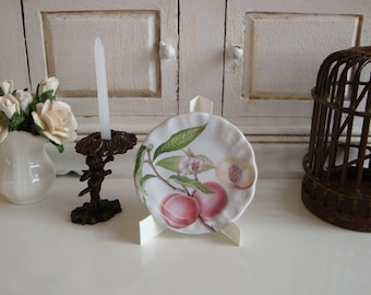 Botanical Peaches Dollhouse Plate