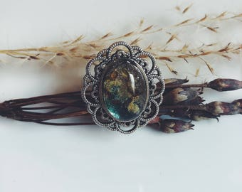 Blue dayflower ring, blue flowers, blue flower ring, floral ring, fairy ring, magical ring, romanric ring, boho, bohemian ring, dayflower