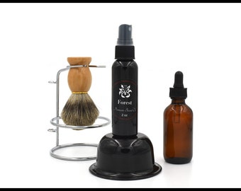 Natural Beard Oil SAMPLE : Conditioner, Moisturizer, Growth, Growing