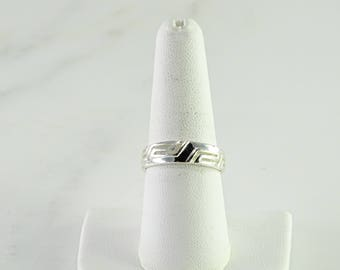 Sterling Stack Ring Size 7