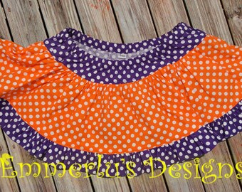 Diaper Cover Ruffled Skirt