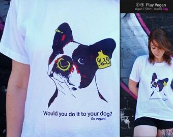 Vegan Tshirt - Dog