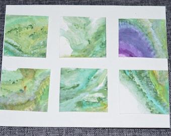 Large Tile Green Card