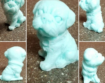 Scented Pug 3D Puppy Soap (see description for color options)