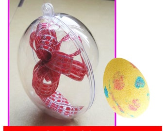 Egg Shape Mold in 55mm, 65mm, Bath Bomb Mold, Party Gift DIY