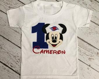 Disney Cruise Birthday Shirt (Mickey Mouse)
