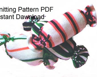 Sweets Cushions Knitting Pattern PDF Instant Download