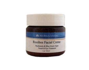Rooibos Eye Creme- Hyaluronic and Blue-Green Algae Vitamin E- Balance & Soothe