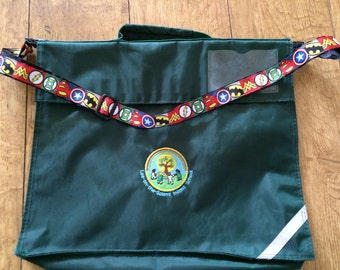 Bespoke 'Clip On' School Book Bag Strap
