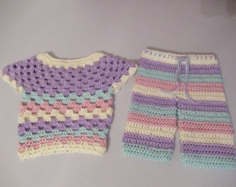Pastel Baby Outfit