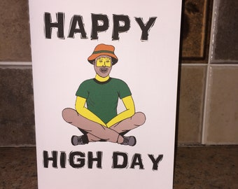 Stoner birthday card