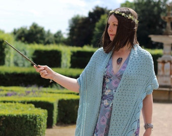 Frondis shawl PDF knitting pattern