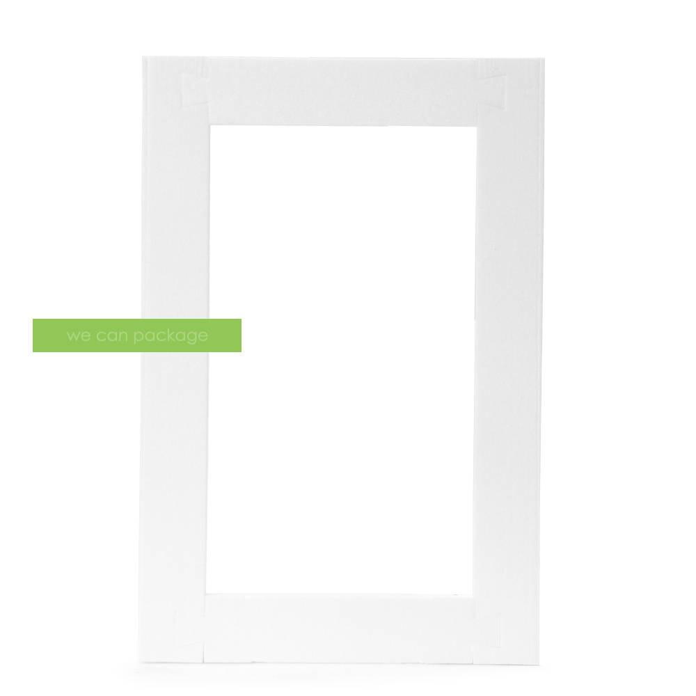Blanco icopor grande marco Marco de la foto de la espuma
