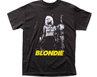 Blondie Funtime Men's Traditional Fit 18/1 Cotton Tee (BLN18) Black