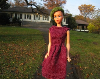 Barbie Party Dress Knitting Pattern