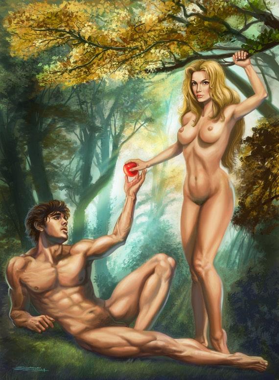 Adam an eve porn