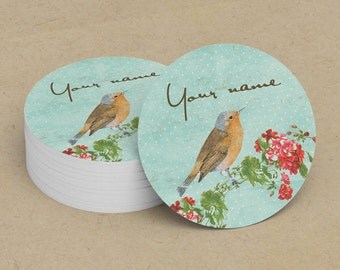 Custom Stickers  Custom Logo Stickers  Personalized Stickers  Product Labels  Adhesive Labels  Return Address Labels  Vintage Bird 4