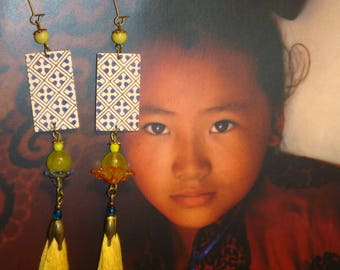 Earrings ethnic Bohemian original