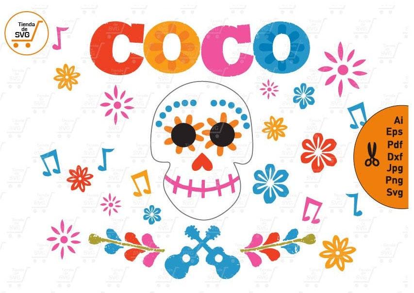 COCO svg Coco Skull svg Coco
