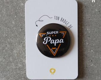 """Badge """"SUPER Dad"""""""