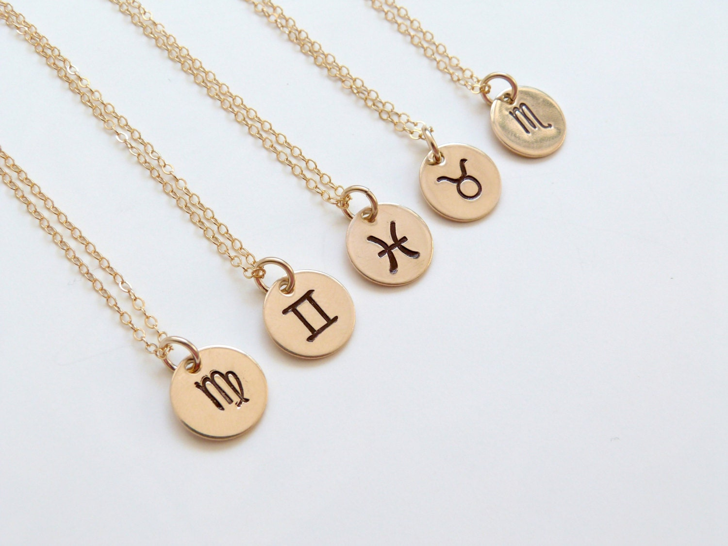 zodiac notonthehighstreet dizzy necklace personalised com by product silver original