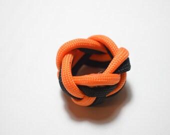 Scout Woggle / Napkin Ring #550 Paracord Survival Neckerchief Slide Boy Girl Cub