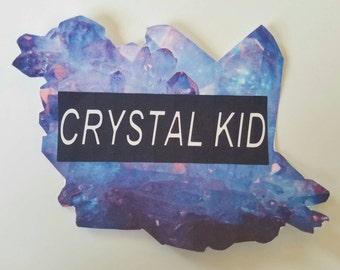 Giant Crystal Sticker