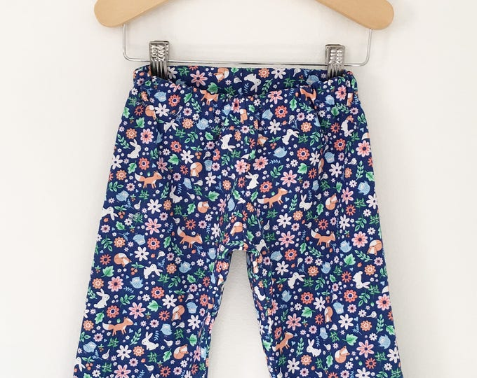 Floral Baby, Toddler, and Child Straight Leg Pants