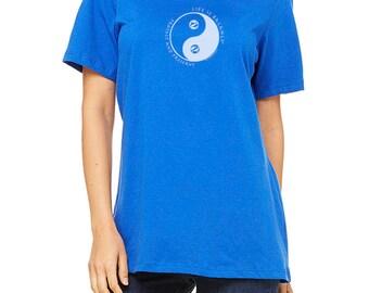 Women's Ocean T-Shirt / Life is Balance® / Fitted Cap-Sleeve / Inspirational T-Shirt / Gift for women