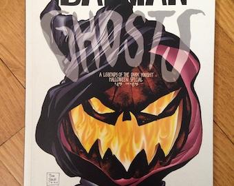 DC's Batman Ghosts graphic novel