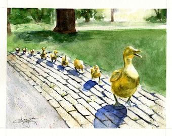 Make Way for Ducklings - PRINT