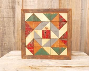 barn quilt,  wooden barn quilt, geometric wall art