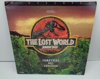 Jurassic Park The Lost World Widescreen Laserdisc