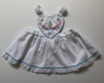 1980's Folk Embroidered Heart Jumper (12 months)
