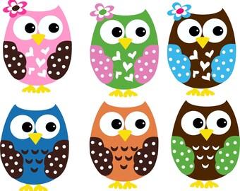 Owl Decal Customized // Owl Art // Owl Decor // Custom Owl // Owl Wall Decal // Choose Colors
