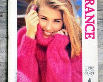 Explanation Bergère de France 1992-1993 knitting magazine